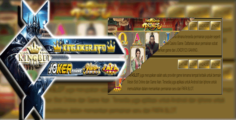 Agen Slot Online Download Apk Fafaslot Dan Joker123 Original